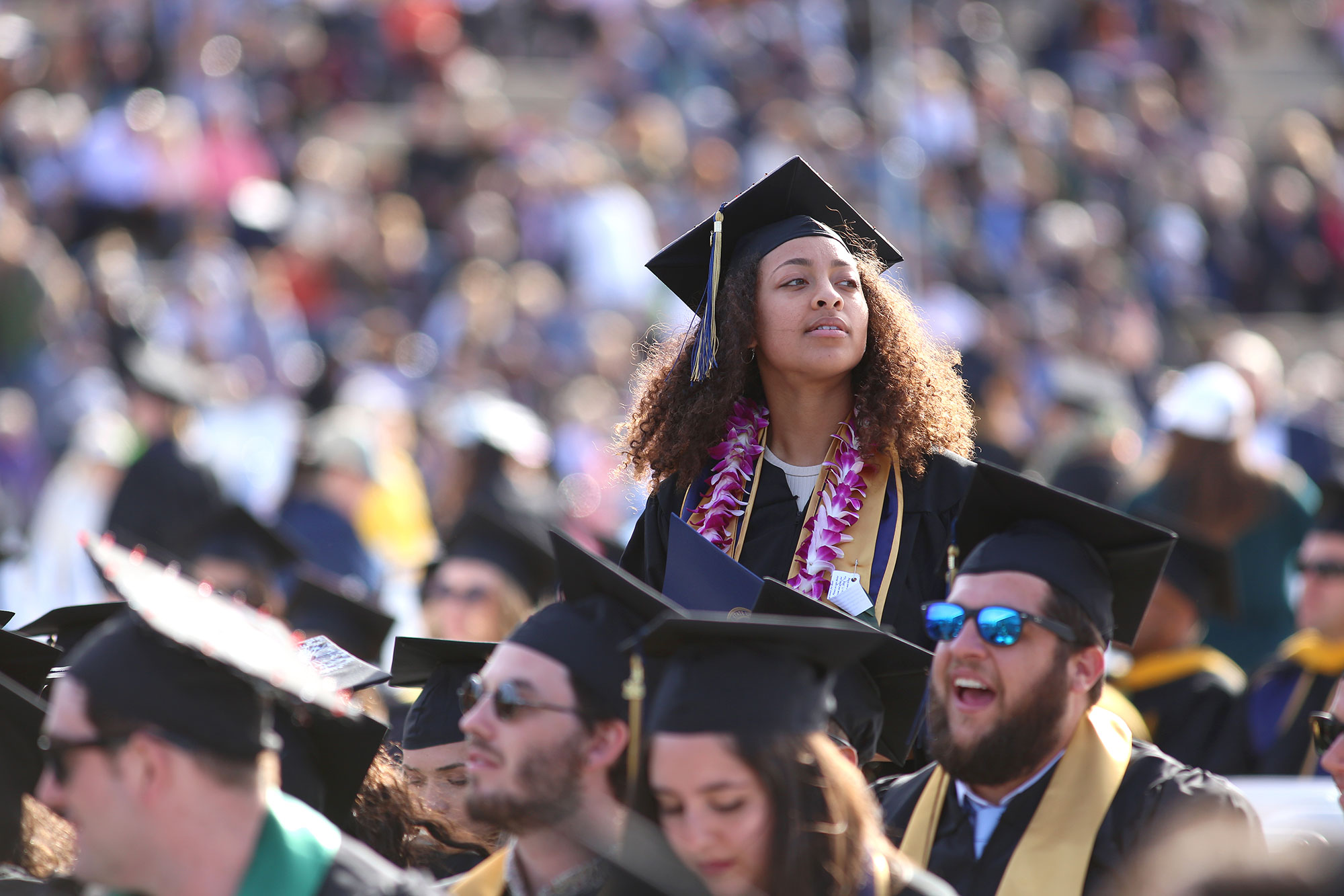 CSUMB graduates at Commencement